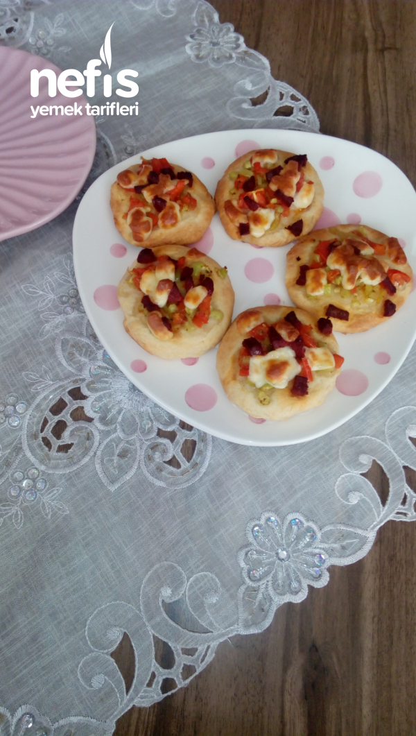 Teremyağlı Mini Pizza
