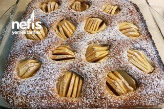 Cevizli Tarçınlı Elmalı Kek (Versunkener Apfelkuchen) Tarifi