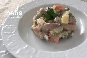 Orijinal Rus Salatası (Olivye) Tarifi