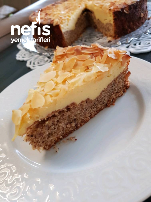 Teremyağlı Kekli Cheesecake (Pratik)