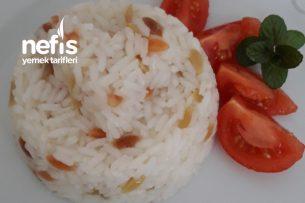 Teremyağlı Sebze Erişteli Pilav Tarifi