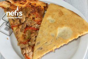 Teremyağlı Ton Balıklı Pizza Tarifi