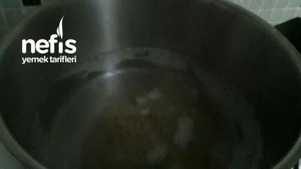 Teremyağlı Yoğurtlu Misket Köfteli Çorba(yeşil Mercimekli)