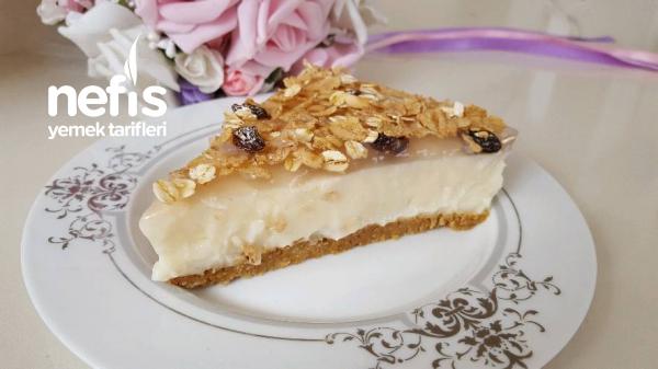 Cheesecake Görünümlü Kolay Pasta