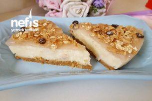 Cheesecake Görünümlü Kolay Pasta Tarifi