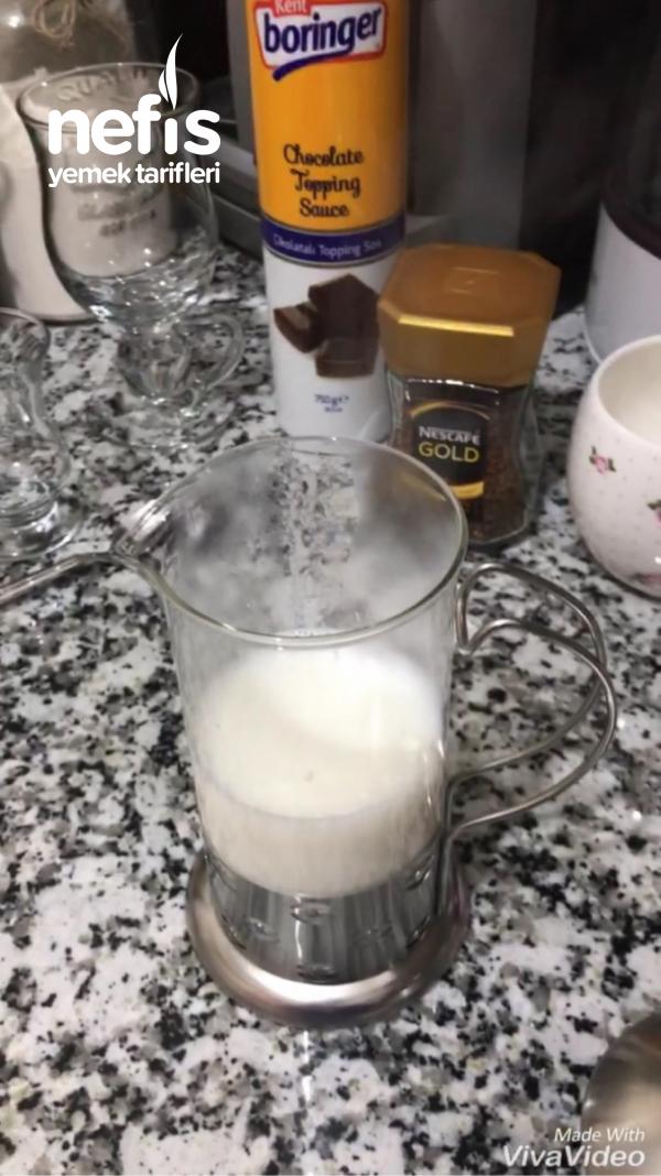 Evde Kolay Latte Machiato