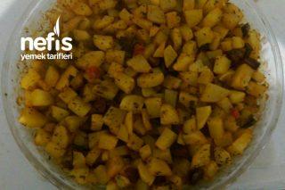 Fırında Sucuklu Patates Tarifi