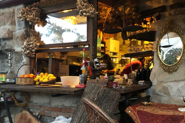kapadokya omurca cafe restaurant