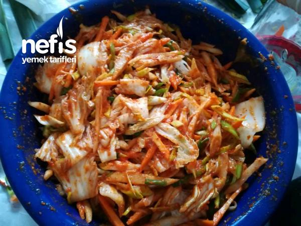 Kimchi (Kore Turşusu)