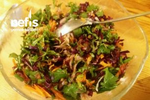 Maş Fasulyesi Salatası Çok Doyurucu Tarifi