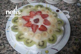 Teremyağlı Meyveli Pastam Tarifi