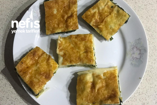Su Böreği Tadında  Ispanak Böreği Tarifi
