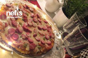 Teremyağlı Enfes Tavada Pizza Tarifi
