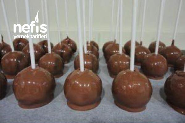 Teremyağlı Karamelli Cakepops Tarifi