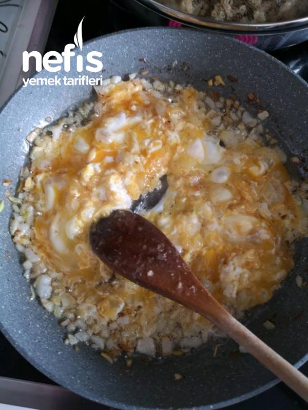Yumurtalı Kabak Yemeği