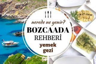Bozcaada'da Ne Yenir? Adanın En Meşhur 10 Nefis Lezzet Durağı Tarifi
