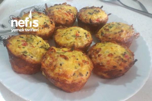Patates Çanağında Omlet Tarifi