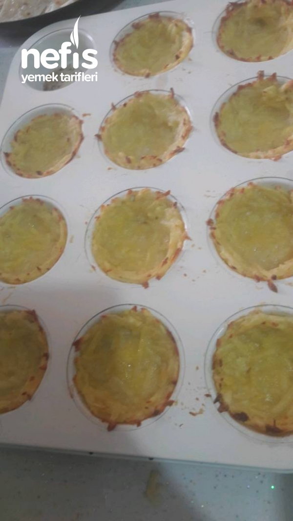 Patates Çanağında Omlet