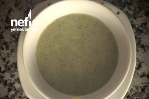 Sütlü Brokoli Çorbası (+1 Yaş) Tarifi
