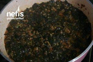 Teremyağlı Bulgurlu Ispanak Yemeği Tarifi