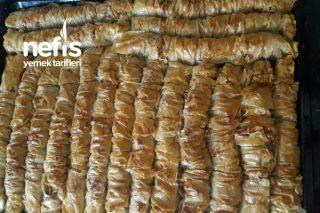 Hazır Baklava Yufkasından Burma Baklava Tarifi