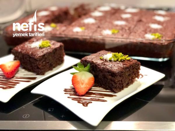 Nutellalı Mükemmel Islak Kek Tarifi (Büyük Borcamda) – Resimli Anlatım