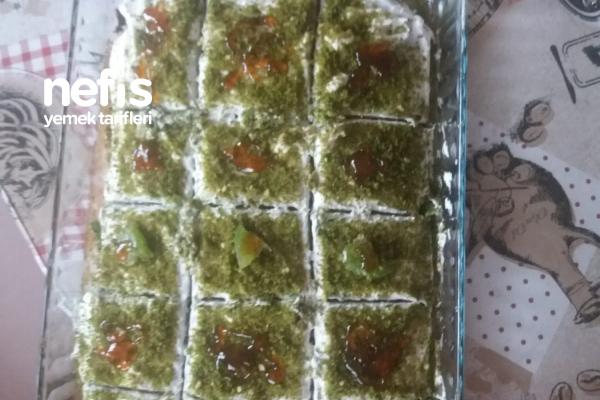 Teremyağlı Ispanaklı Kek Tarifi