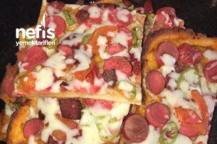 Teremyağlı Nefis Pizza Tarifi