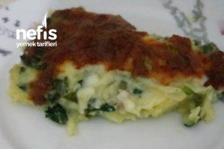Teremyağlı Patateslı Ispanaklı Graten Tarifi