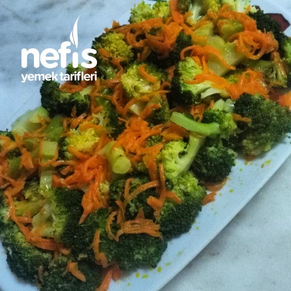 Teremyağlı Sıcak Brokoli Salatası