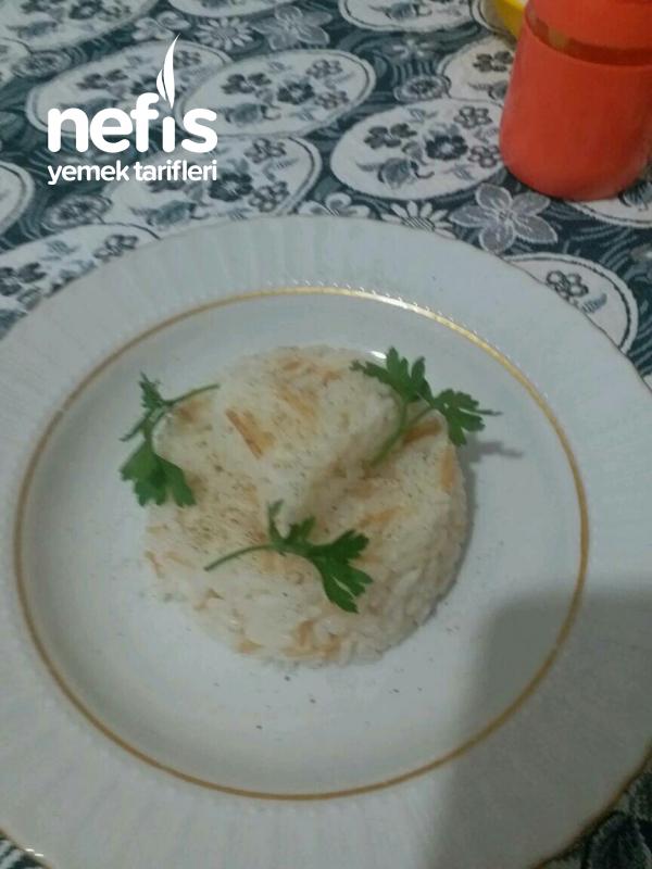 Teremyağlı Yasemin Pirinç Pilavı