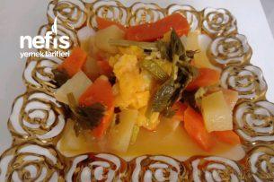 Zeytinyağlı Vitamin Deposu Portakallı Kereviz Tarifi