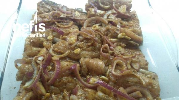 Fırında Soslu Alabalık ( balık ancak bu kadar lezzetli olur)