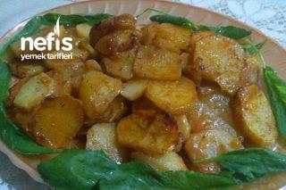 Fırında Soslu Patates Dilimleri Tarifi