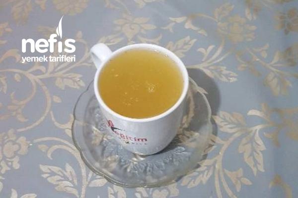 Limonlu Zencefili Ballı Şifa Çay I Tarifi
