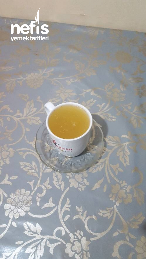 Limonlu Zencefili Ballı Şifa Çay I
