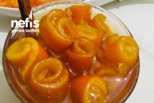 Portakal Kabuğu Reçeli (Çubuk Tarçınlı) Tarifi