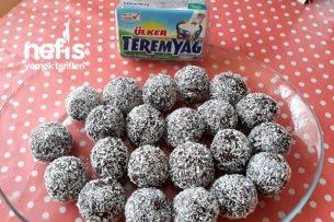 Teremyağlı Çikolata Topları (Bisküvili) Tarifi