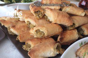 Teremyağlı Çıtır Börek (Yiyenler El Açması Sanacak) Tarifi