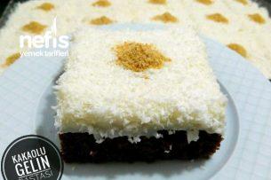 Teremyağlı Kakaolu Gelin Pastası Tarifi