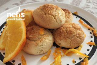 Teremyağlı Portakallı Kurabiye Tarifi