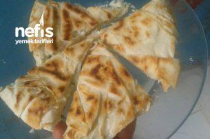 5 Dakika Böreği ( Tava Böreği ) Tarifi