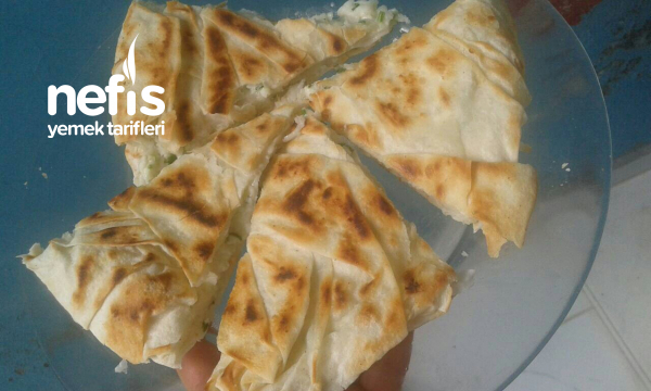 5 Dakika Böreği ( Tava Böreği )