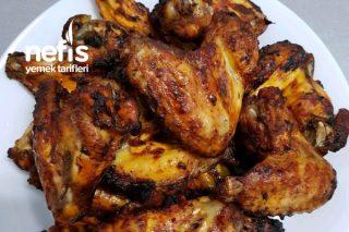 Kebap Tadında Fırında Tavuk Kanat Tarifi