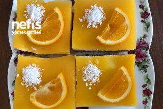 Portakal Jöleli Etimek Tatlısı Tarifi