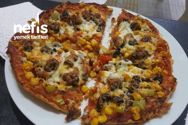 Pratik Pizza (Enfes Pizza) Tarifi