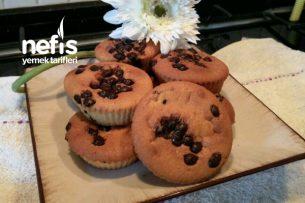 Teremyağlı Damla Çikolatalı Ve Portakallı Mini Kekler Tarifi