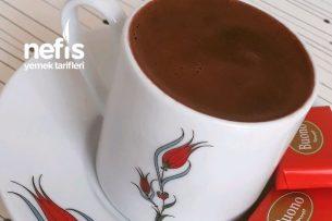 Damla Çikolatalı Enfes Türk Kahvesi Tarifi