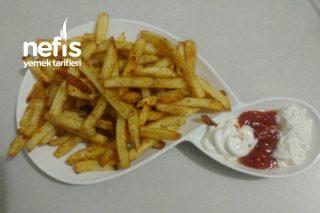 Dondurulmuş Patatesin Fırında Kızartması Tarifi