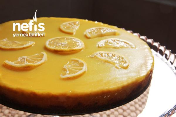 Teremyağlı Limonlu Cheesecake Tarifi